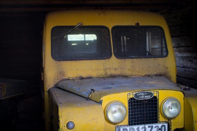 Land Rover i Salmi